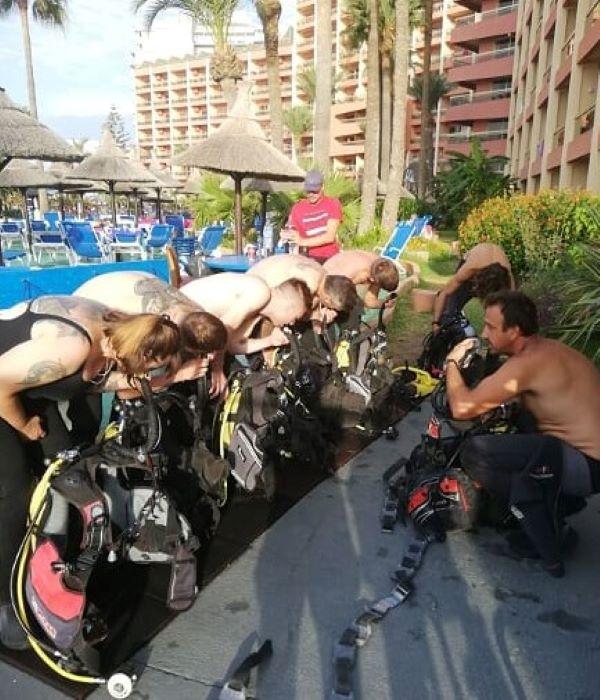 scuba tours - sunset beach club